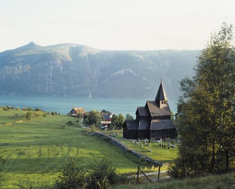 Urnes stavkirke. Foto Jiri Havran.