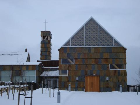 Taura kloster. Foto arkitekten.