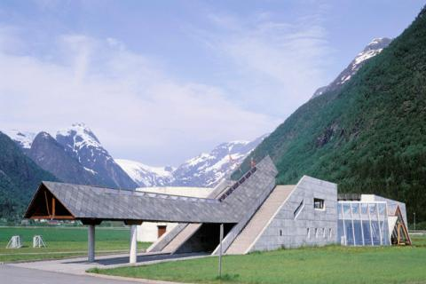 Norsk bremuseum, Fjærland. Foto Jiri Havran.