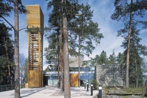 Mortenrud kirke, Oslo. Foto Terje Solvang.